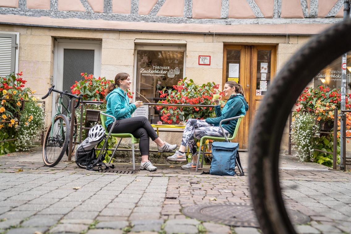 Tübingen Fachwerk Café