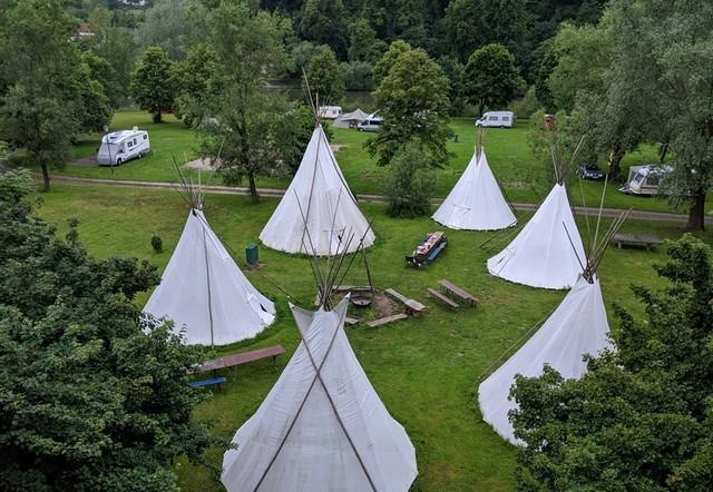 Odenwald River Camp Tipis Neckargerach